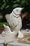 Fontana del pesce di Iant Immagini Stock