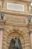 Fontana del Saint-Michel Immagine Stock Libera da Diritti