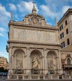 The Fontana dell'Acqua Felice Royalty Free Stock Photography