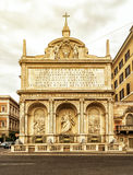 The Fontana dell'Acqua Felice in Rome Stock Photos