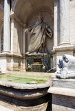 Fontana dell'Acqua Felice. Rome. Italy. Royalty Free Stock Photography