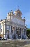 Fontana dell'Acqua Paola,罗马 免版税库存照片