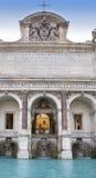 Fontana dell Acqua Paola- Acqua Paola喷泉, Gianicolo,罗马,意大利 库存照片