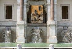The Fontana dell'Acqua Paola Royalty Free Stock Photos