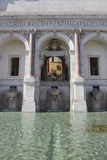 The Fontana dell'Acqua Paola in Rome Royalty Free Stock Photography