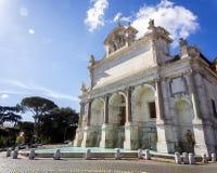 Fontana dell` Acqua Paola i Rome Royaltyfria Bilder