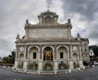 Fontana-dell Acqua Paola, Rom Stockfotos