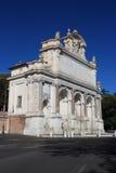Fontana-dell'Acqua Paola, Rom Stockfoto