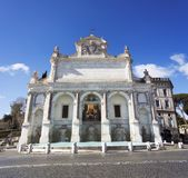 Fontana dell`Acqua Paola in Rome. Fontana dell`Acqua Paola also known as Il Fontanone `The big fountain` is a monumental fountain located on the Janiculum Hill Royalty Free Stock Photos