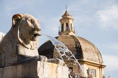 Fontana dell' Obelisco Zdjęcie Royalty Free