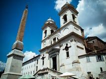 Fontana della Barcaccia in Rome Stock Images