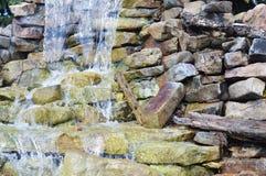 Fontana della cascata Fotografie Stock
