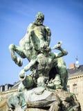 Fontana della centaurea in Furth Immagine Stock Libera da Diritti