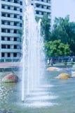 Fontana della città di struttura, intere di Dita Fotografie Stock