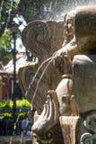 Fontana della piazza del ` s dell'Antigua Fotografia Stock Libera da Diritti