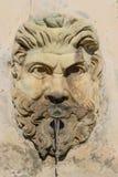 Fontana della Pigna在梵蒂冈博物馆 库存图片