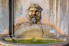Fontana della Pigna or Pinecone fountain at the Vatican Museums Royalty Free Stock Photography