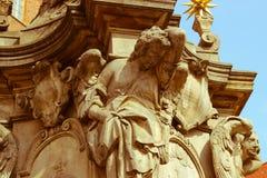 Fontana della scultura Immagini Stock