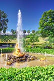 Fontana della serra della fontana Immagine Stock