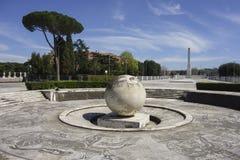 Fontana della sfera Immagine Stock