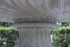 Fontana della sgocciolatura in primavera Fotografia Stock Libera da Diritti