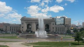 Fontana della stazione del sindacato Immagine Stock