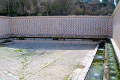 Fontana delle 99 Cannelle, l'Aquila, Włochy Fotografia Royalty Free