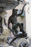 Fontana delle Tartarughe,在广场马太的乌龟喷泉 罗马 库存照片