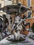 Fontana delle Tartarughe,罗马意大利Deatail  免版税库存图片