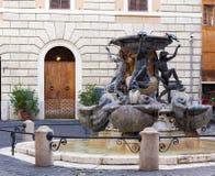 Fontana delle Tartarughe żółw fontanna w Rzym Obraz Royalty Free