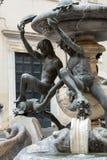 Fontana delle Tartarughe, η πηγή χελωνών στην πλατεία Mattei Ρώμη, Στοκ Εικόνες
