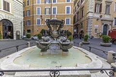 Fontana delle Tartarughe in Rome Royalty Free Stock Photos