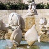 Fontana 2012 dello zodiaco di Giaffa Fotografie Stock