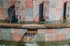 Fontana - dettaglio Fotografia Stock Libera da Diritti