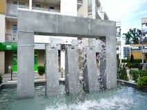 Fontana di acqua video d archivio