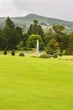 Fontana di acqua a Powerscourt, Irlanda Fotografia Stock Libera da Diritti