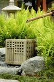 Fontana di bambù Fotografia Stock Libera da Diritti