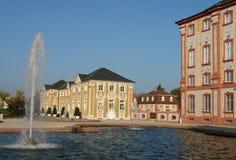 Fontana di Bruchsal Fotografia Stock