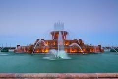 Fontana di Buckingham. Fotografia Stock Libera da Diritti