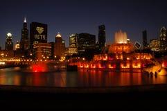 Fontana di Buckingham, Chicago Immagini Stock Libere da Diritti