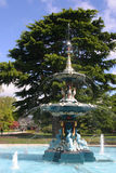 Fontana di Christchurch Fotografia Stock