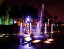 Fontana di Dancing Immagine Stock