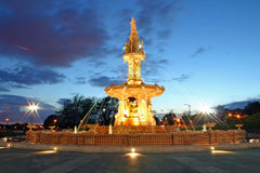 Fontana di Doulton fotografie stock libere da diritti