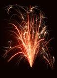 Fontana di fuoco Fotografia Stock