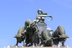 Fontana di Gefion immagine stock libera da diritti