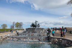 Fontana di Gefion Fotografie Stock Libere da Diritti