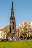 Fontana di Kranners a Praga fotografia stock libera da diritti
