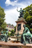 Fontana di Lindau Immagini Stock