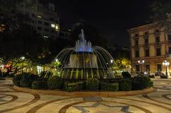 Fontana di Lleida, Spagna fotografia stock