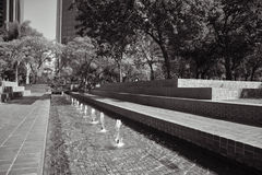 Fontana di Los Angeles Immagini Stock
